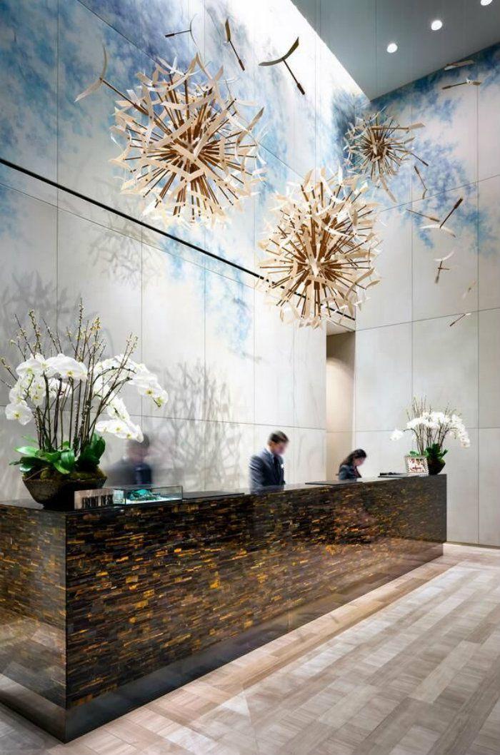 HOW TO STYLE : A Hotel Lobby Using Modern Lights ? | Modern Lights, Hotel Lobby Design, Elegance, Interior Design | #classyinteriors #modernlights #elegance #lighting | FULL ARTICLE: https://goo.gl/nCgupa