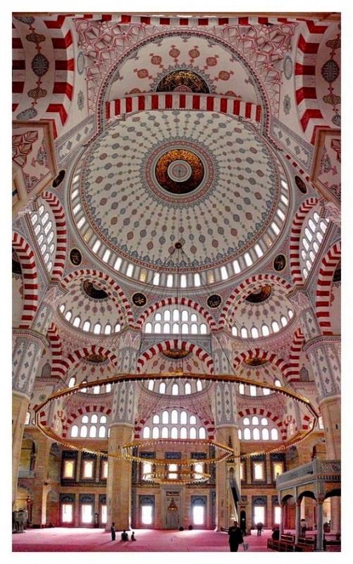Adana Sabanci Central Mosque - largest mosque in Turkey