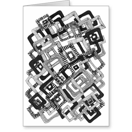 Colour it yourself Rectangle Pattern