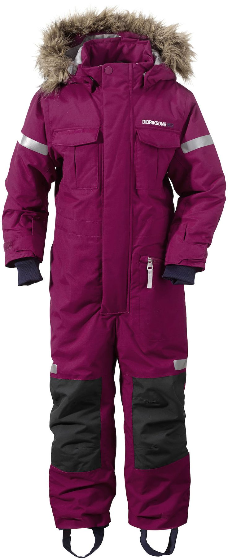 Didriksons Migisi Overall, Dark Lilac 130