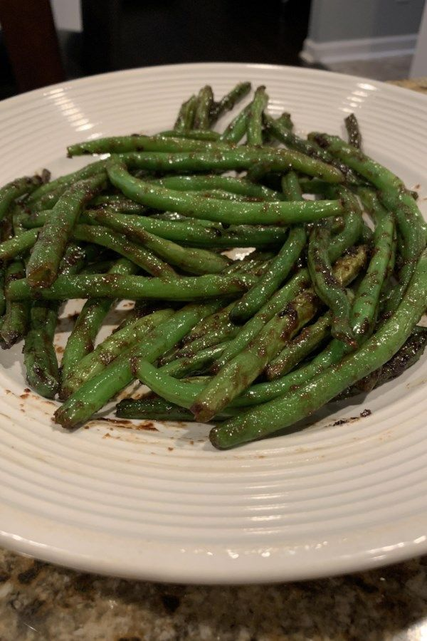 Chinese Buffet Green Beans Recipe With Images Vegetable Side Dishes Chinese Buffet Green Beans Green Bean Recipes