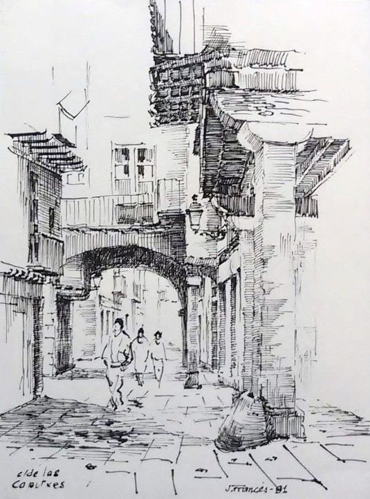detailed drawing using cross-hatching technique. I would to use this technique at the start of this project using different drawing tools.