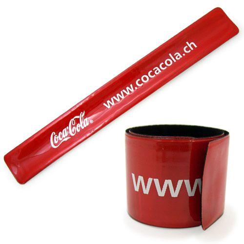 Coca-Cola PVC Slap Bracelet