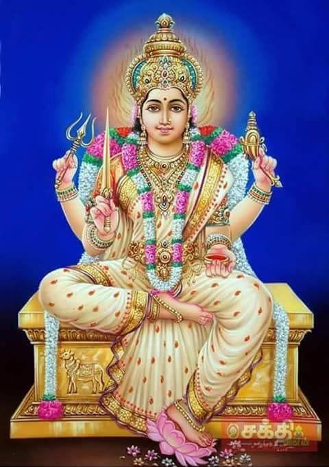 Goddess Sri Angaala Parameshwari
