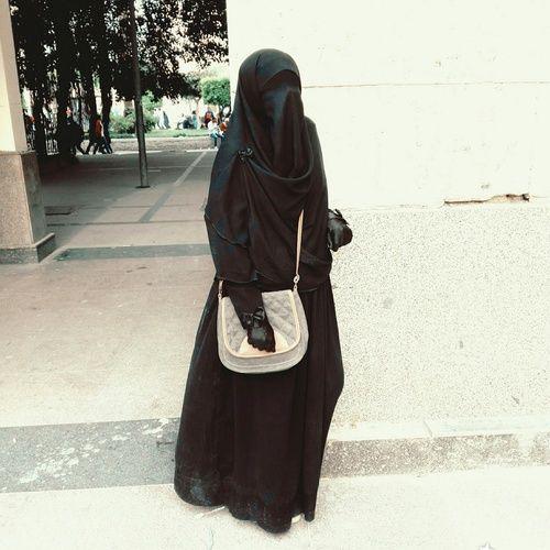 hijab, niqab, and منتقبة image