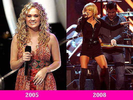 Carrie Underwood Then and Now - The Hollywood Gossip