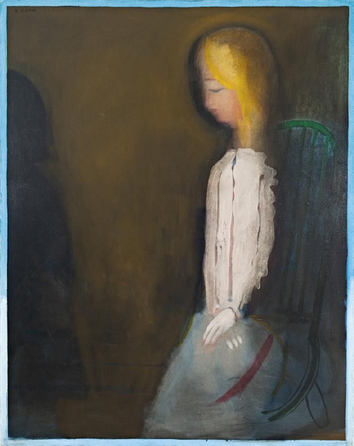 Charles Blackman  Veiled Light, 1972