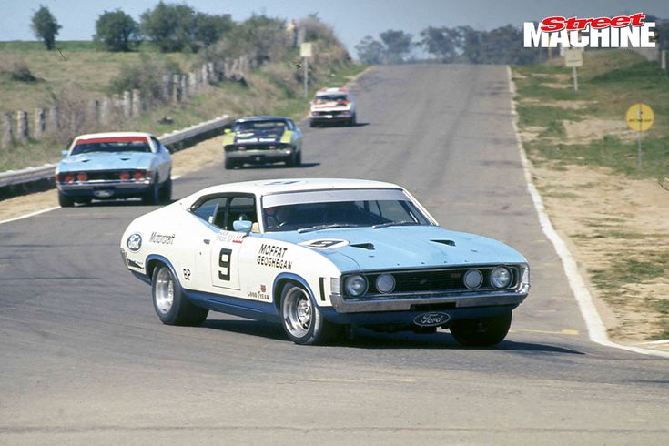 1973 XA GT works car through Murray's Corner