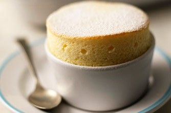 Mary Berry's lemon souffles recipe from The Great British Bake Off #souffle