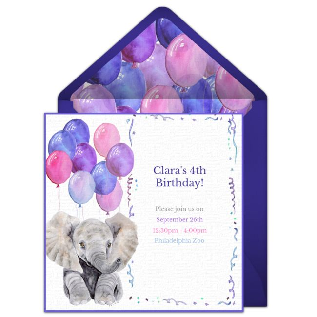 217 best Free Party Invitations images – Punchbowl Birthday Invitations