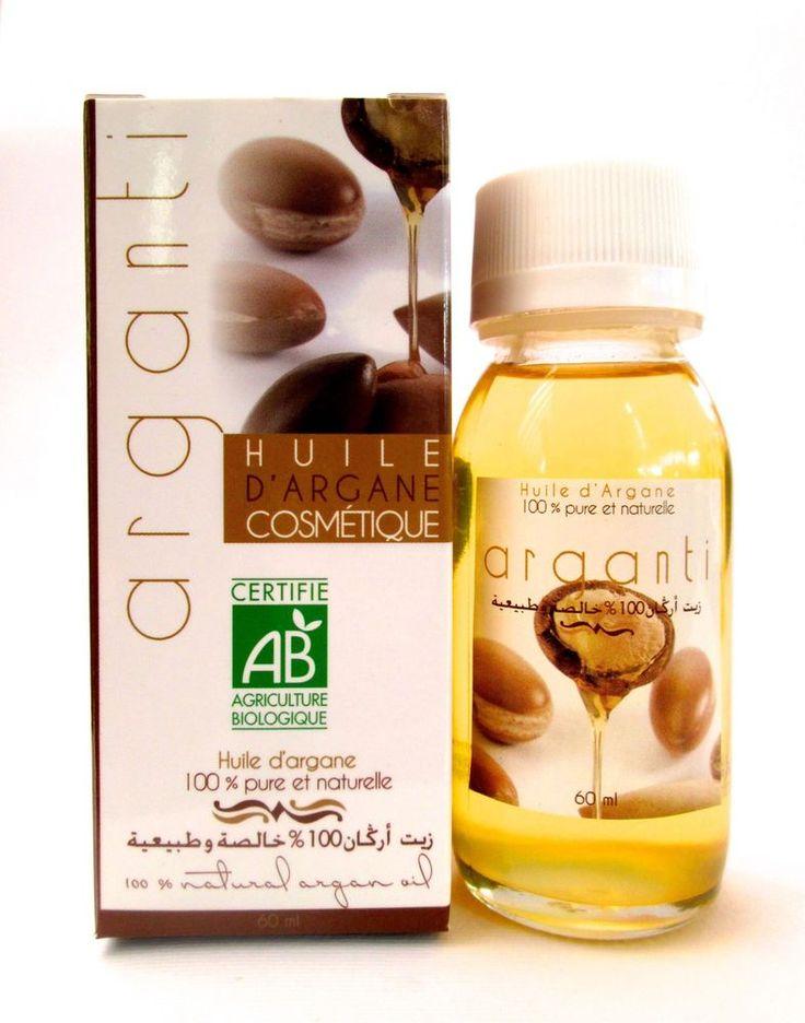 Olio di Argan Puro - Certificato ECOCERT e AB Agricoltura Biologica - 60 ml