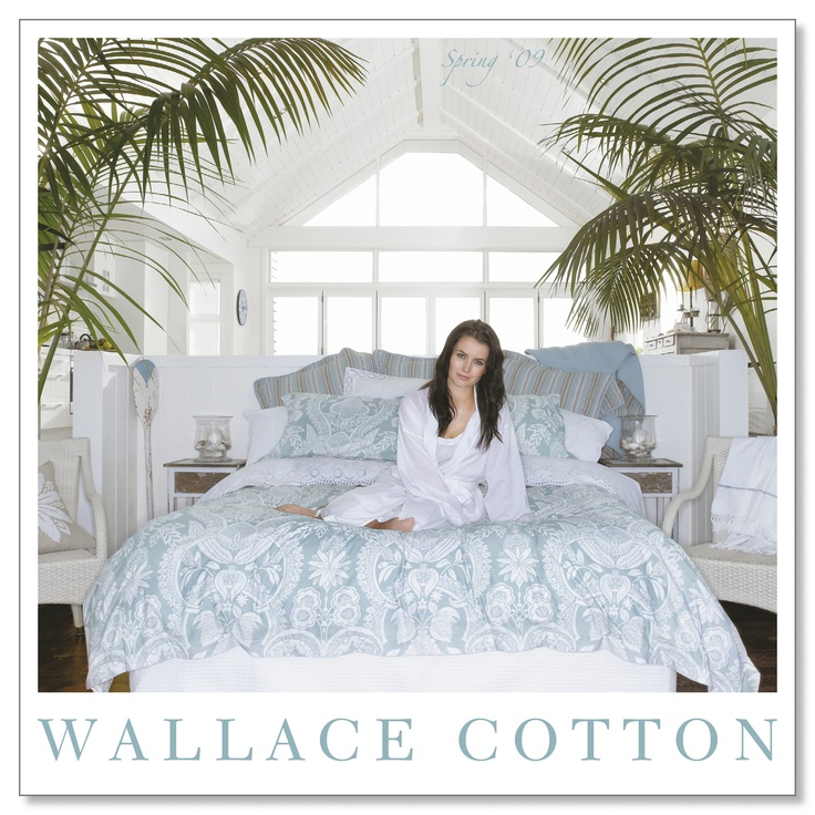 WC Spring 2009  #bedding #bed #wallacecotton