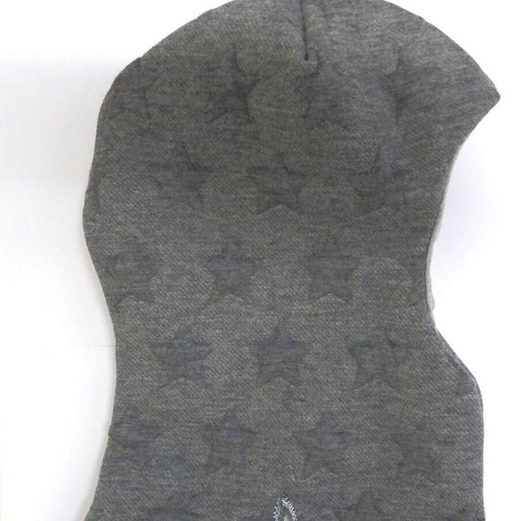 More balaclavas for babies! Two differend patterns and sizes available: dark grey stars 0-3 & 12-24months / kroco 0-3 & 12-24months Ships worldwide!