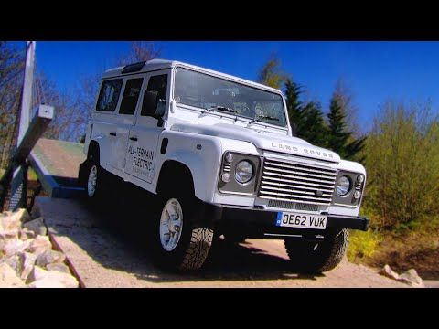 Electric Defender Land Rover - Fifth Gear - YouTube
