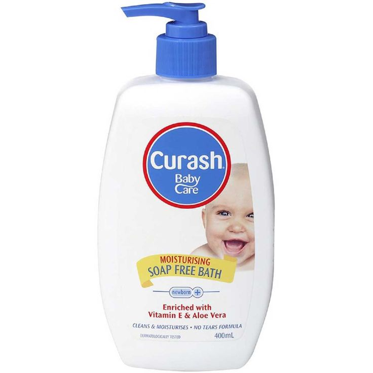 Keep your baby clean using the Curash Moisturising Soap Free Baby Bath. This gentle formula is enriched with vitamin E and aloe vera to keep your baby's skin as smooth as ever without drying or irritation. Ideal for delicate skin, it will ensure to give your baby silky moisturised skin.