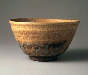 伯庵茶碗 銘 冬木 五島美術館所蔵
