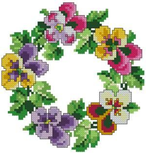 Machine Embroidery Cross Stitch Design