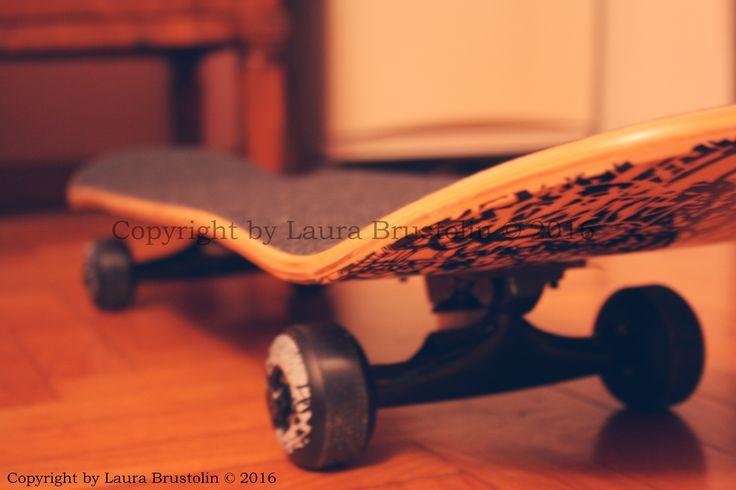 My skateboard  <3 - Laura Brustolin