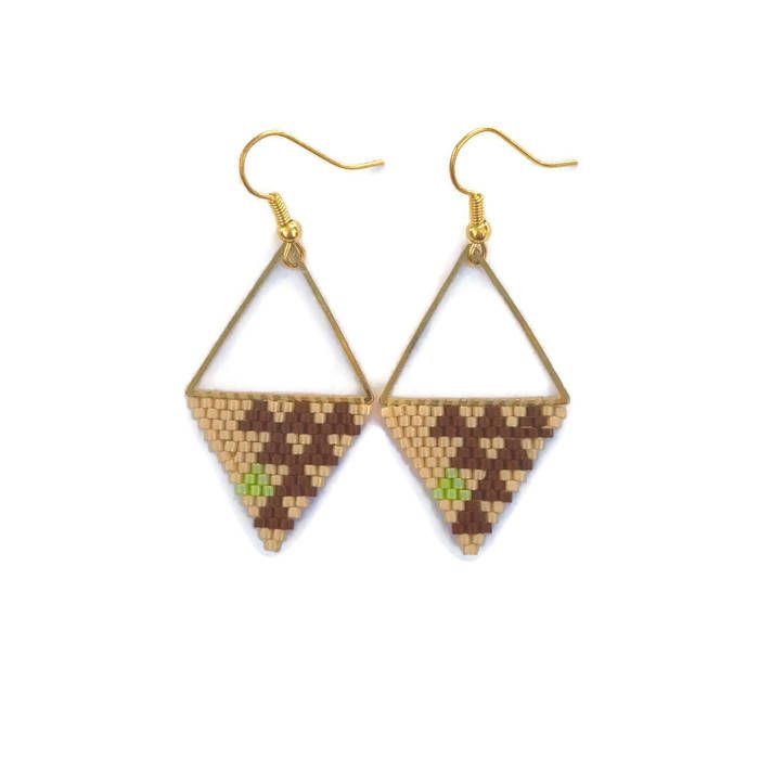 Support triangle boucle d'oreille