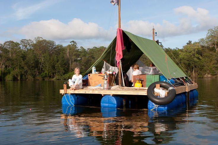 home built pontoon boat - Google Search