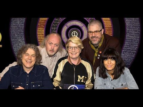 QI, now with Sandi Toksvig as host, replacing Stephen Fry. I can't stop watching the part from about 19 minutes to 26 1/2 minutes in. It's just so hilarious. With Bill Bailey, Claudia Winkleman, Phill Jupitus, and of course, Alan Davis. You're welcome, and enjoy.  SNAPPAH!!!
