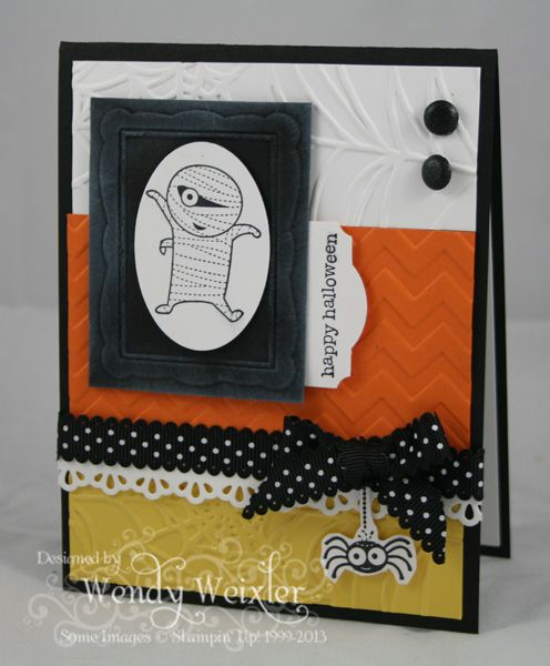 stampin up halloween by wendy weixler at wickedly wonderful creations - Stampin Up Halloween Ideas