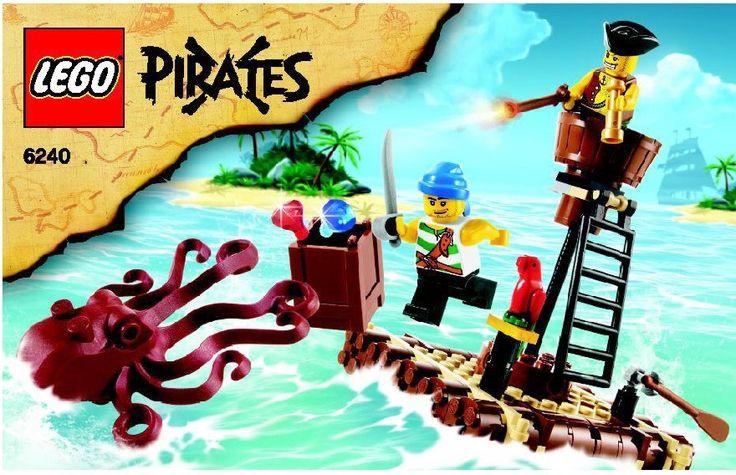Lego Kraken Attackin [6240]