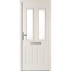 Wickes Sunningdale Doorset Right Hand White 2085 X