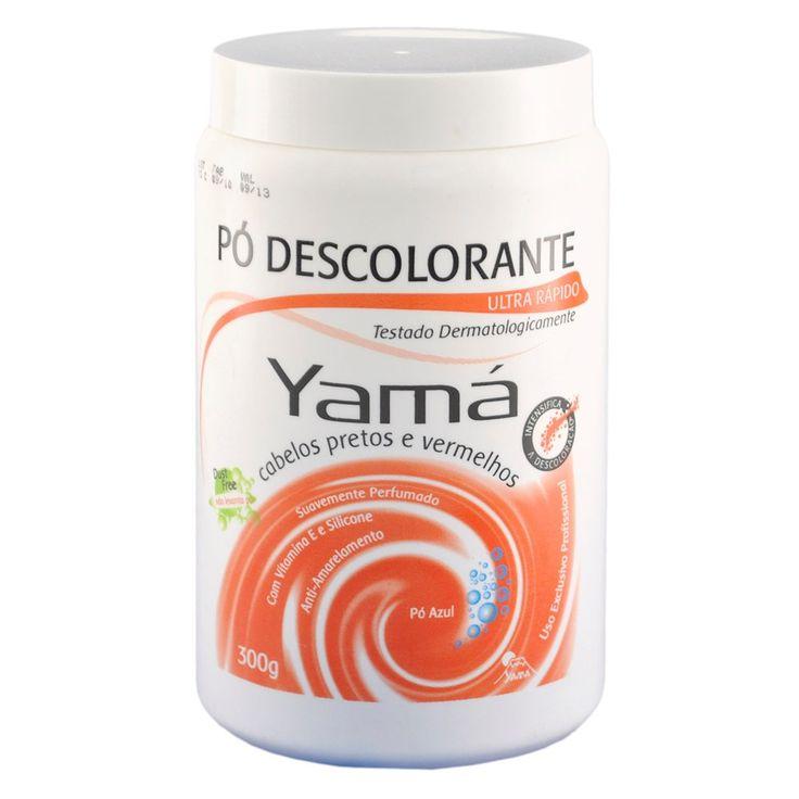 Yama Pó Descolorante para Cabelos Pretos e Vermelhos - 300g - cabeleza