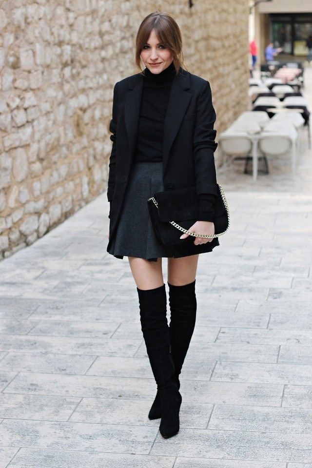Marina A. - shades of black
