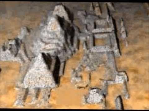 Found Giant Sphinxes, Pyramids In Bermuda Triangle 1/2