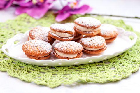 Whoopies -pikkuleivät sopivat niille, jotka eivät pidä näpertelystä, mutta arvostavat täydellistä makua!