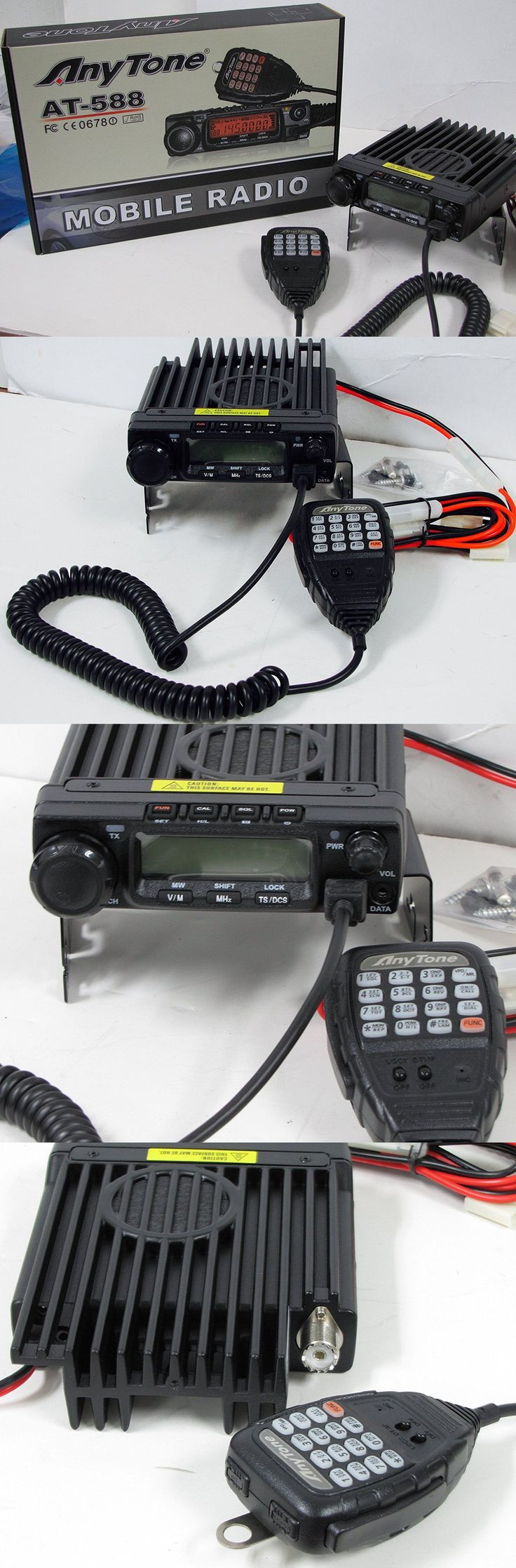 Ham Radio Transceivers: Anytone At-588 220Mhz Amateur Radio High Power Transceiver-Low Price/Free Ship BUY IT NOW ONLY: $149.0