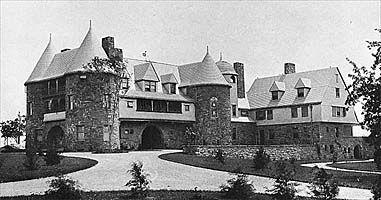 Osborn Castle, 1885, Mc.M. & White architects - Mamaroneck ...