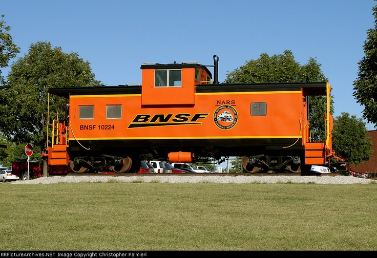 BNSF 10224 Caboose at Overland Park, Kansas at the National training center at Johnson County Community College.