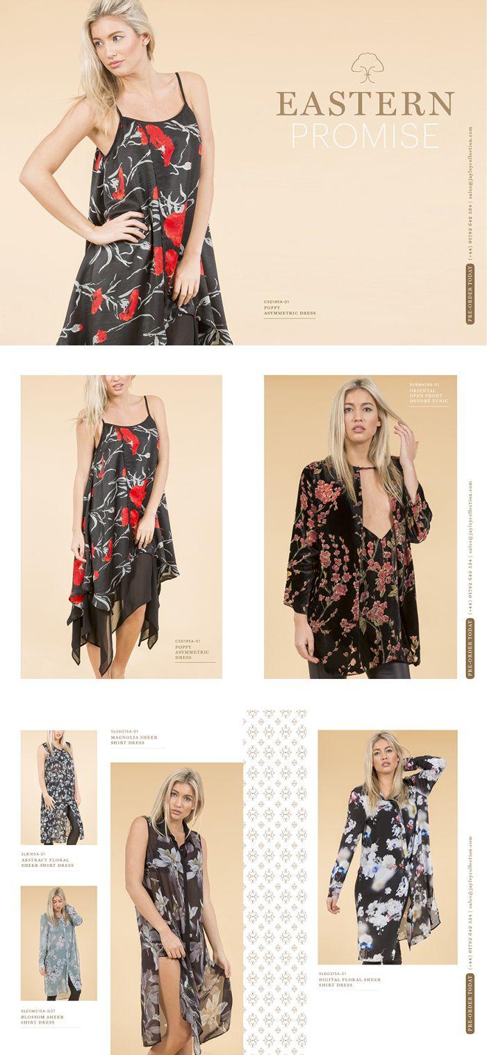 EASTERN PROMISE Jayley SS16 Dresses, Shirts, Tops, Kimonos www.jayley.com