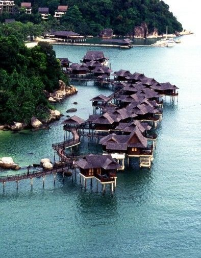 Malaysia's houses on Water