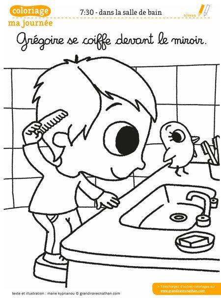 Les 104 meilleures images du tableau hygi ne sur pinterest - Coloriage lavage des mains ...