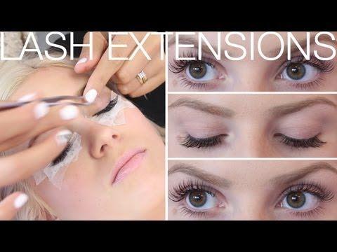 ♡ All About Eyelash Extensions! ♡ FAQ's & Application ft SaturdayNightsA...
