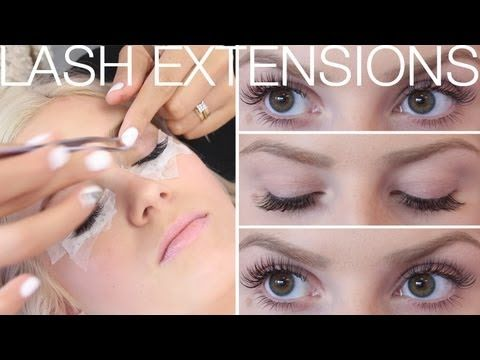 ♡ All About Eyelash Extensions! ♡ FAQ's & Application ft SaturdayNightsA...