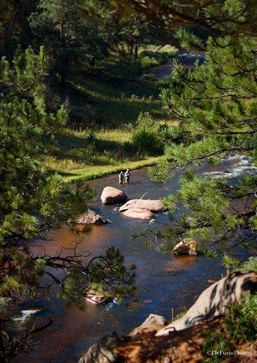 fly fishing cheesman canyon south platte river colorado
