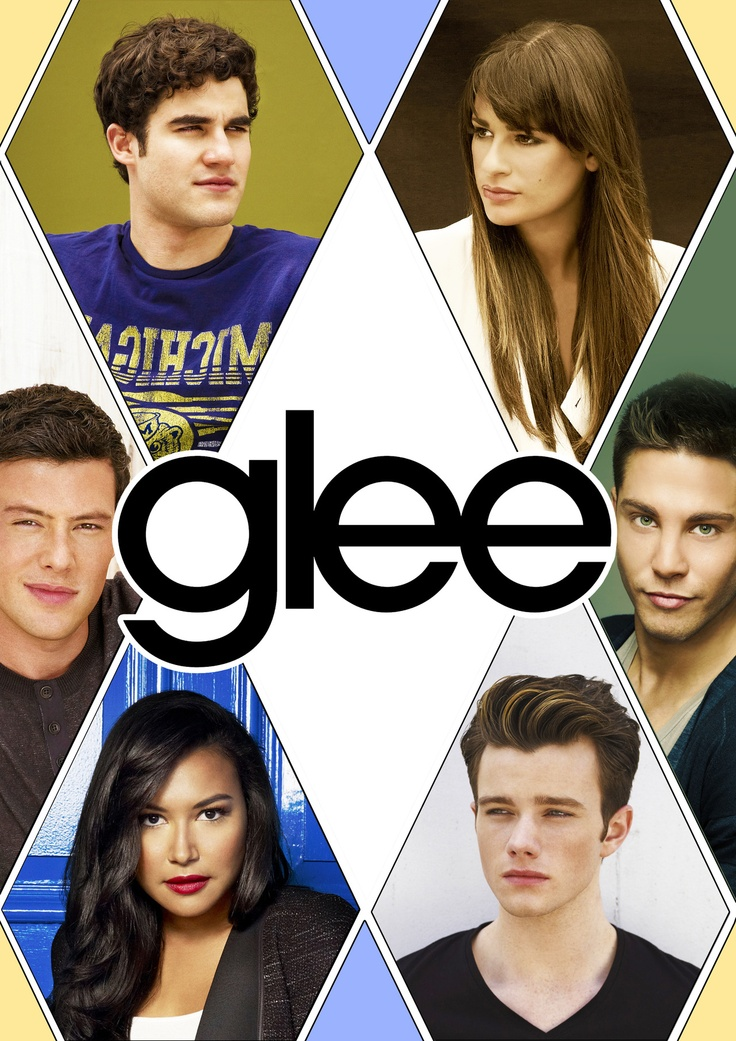 glee, my fav characters and actors! minus brody