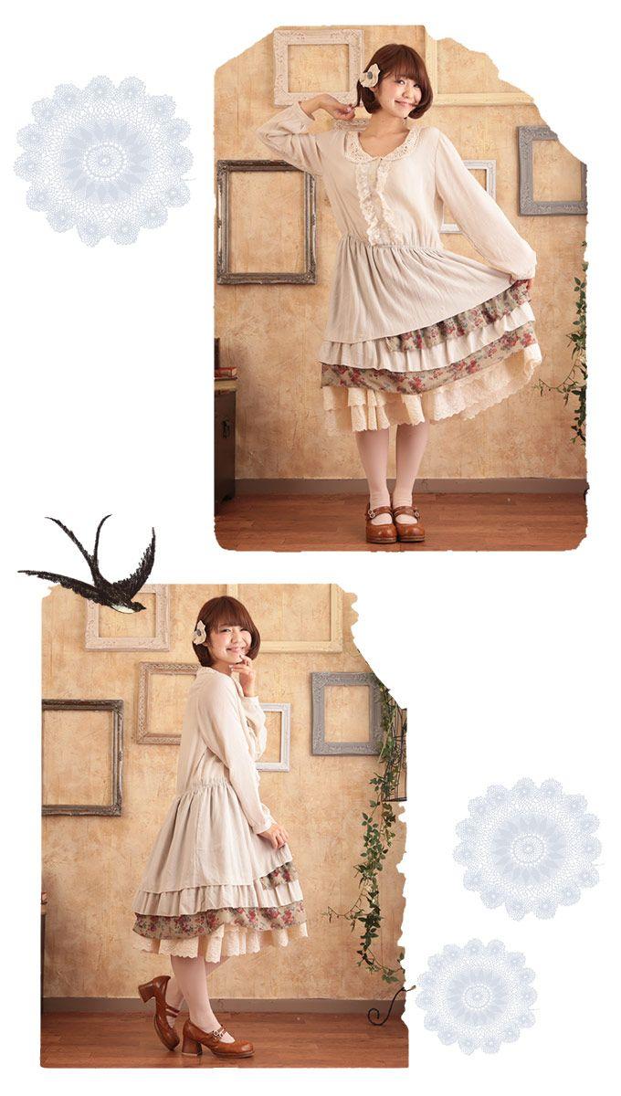 Платье воротник питер полиэтиленн длинный рукав, японский стиль лолита Kawaii национальный тенденция винтажный ретро без тары свободного покроя Vestidos Longos # 16740 купить на AliExpress