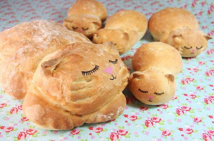 Baker Turns Bread Into Ultra-Cute Catloaf | Bored Panda