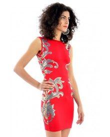 Detailed Bodycon Midi Dress @ £5.99