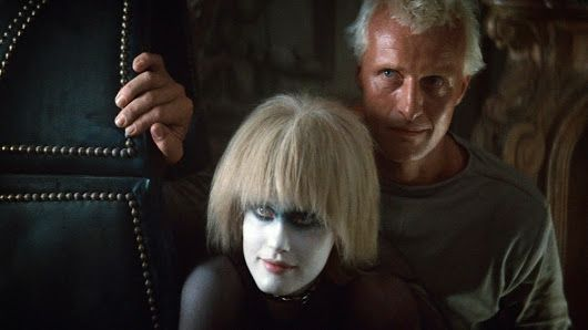 Rutger Hauer and Daryl Hannah in Blade Runner (1982)  #artists #artistes #pho...