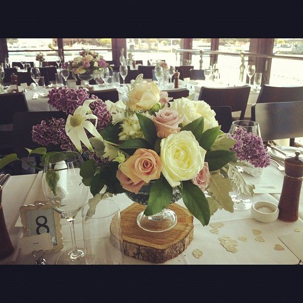The boathouse at Blackwattle bay flowers by Opulent Garden