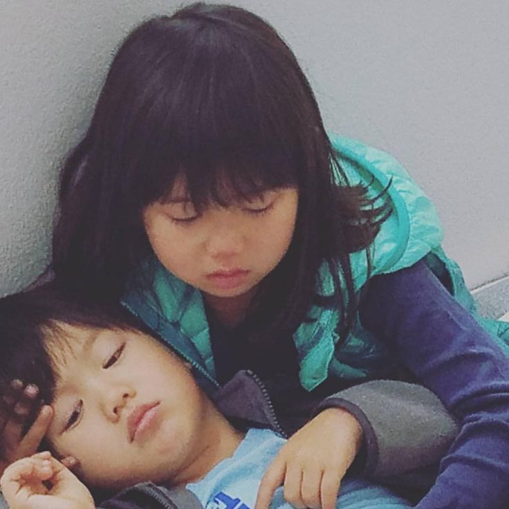 Ricky Kim Instagram update - Asher was sick and Taylor was really worried 😭 Get well soon Taeoh! 💕