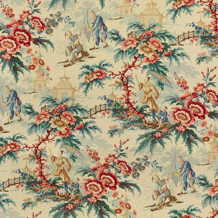 Le Jardin Chinois Brunschwig: 44 Best Brunschwig & Fils Fabric Images On Pinterest