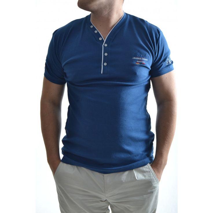 Pánske tričko - modré